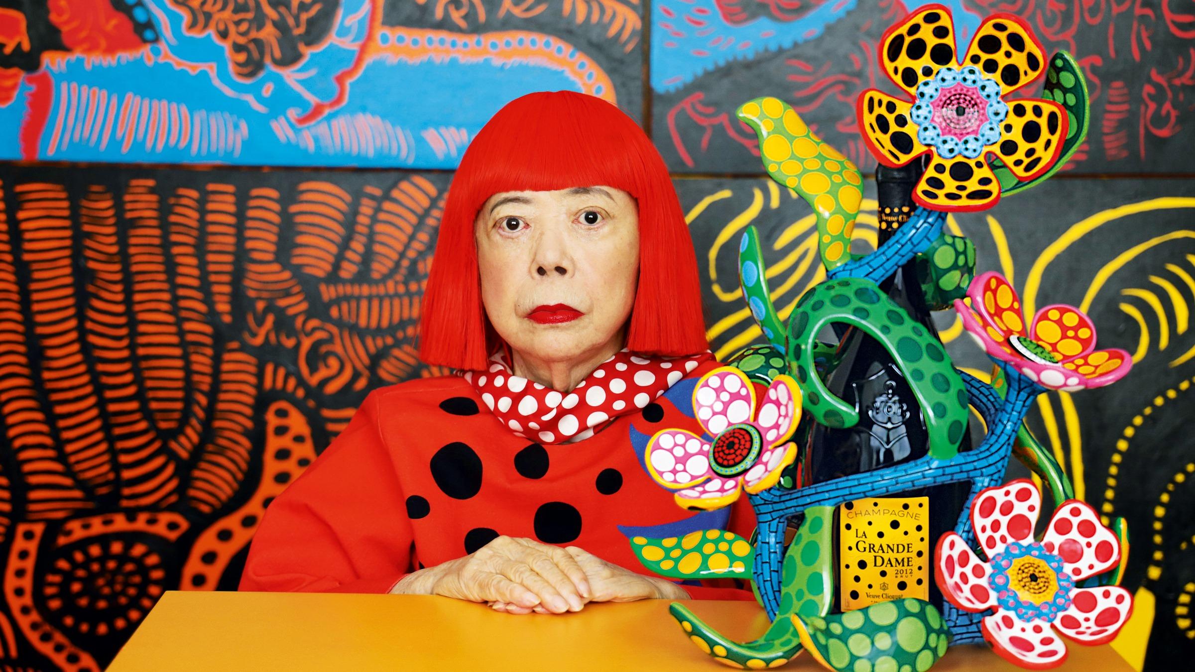 Yayoi Kusama has written a poem to the coronavirus